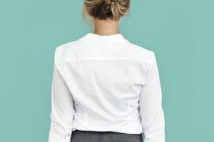 Businesswoman solo