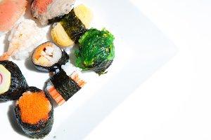 Japanese sushi.