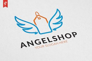 Angel Shop Logo