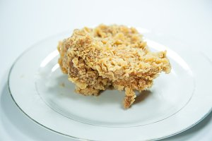 Chicken Deep fried.