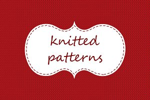 seamless knitted patterns