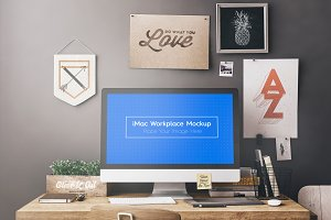 Workspace / Workstation Mockups