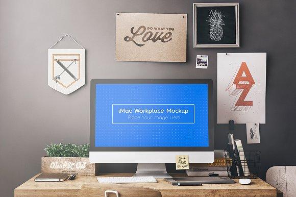 Workspace / Workstation Moc-Graphicriver中文最全的素材分享平台
