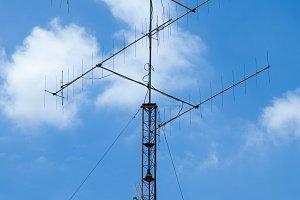 Air antenna.