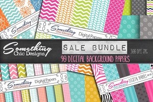 Chevron Patterns Bundle Sale 63% Off