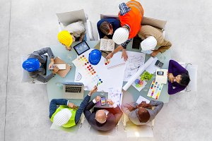 Designers and Architects Working