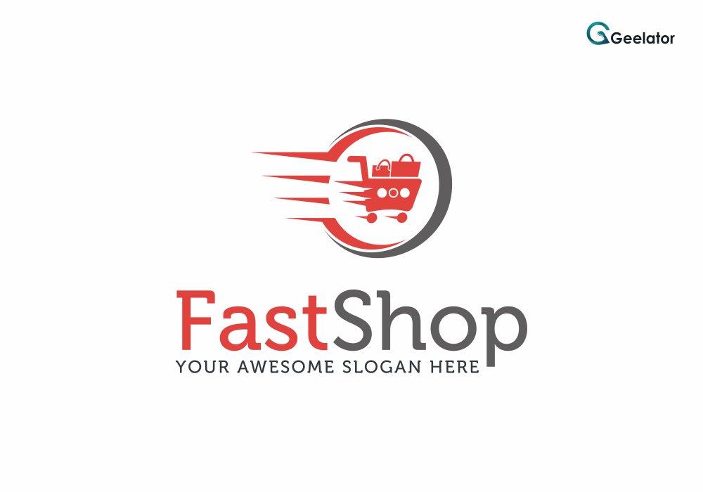 Fast Shop Logo Template ~ Logo Templates ~ Creative Market