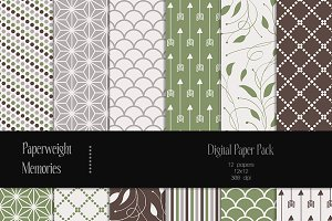 Patterned Paper - Fresh Air