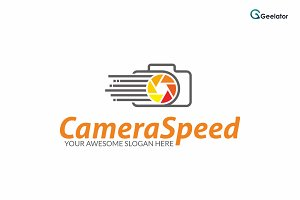 Camera Speed Logo Template
