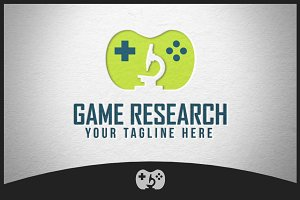 Game Research Logo