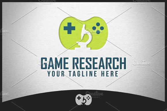 Game Research Logo