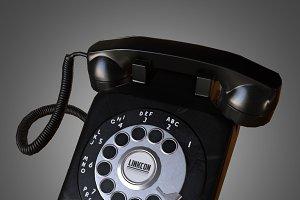 Rotary Phone (Game Ready)