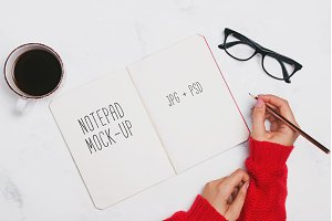 Notepad mock-up