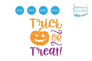 Trick or Treat SVG Halloween