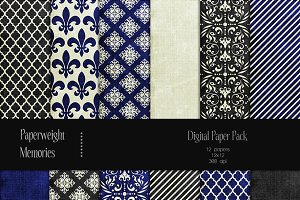 Patterned Paper - Royal Affair