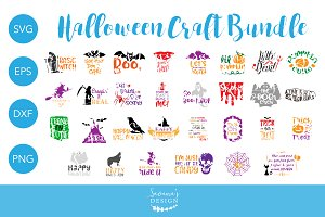 Halloween SVG Bundle Cut Files