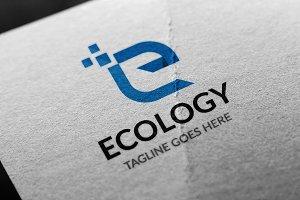 Letter E - Ecology Logo