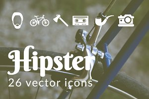 HIPSTER - vector icons