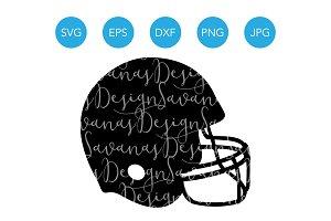 Football Helmet SVG Football SVG