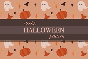 Cute Halloween Pattern