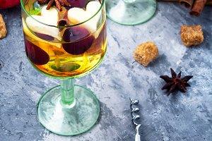 Refreshing traditional sangria