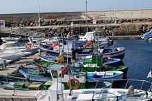 Lanzarote harbor