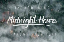 Midnight Hours font