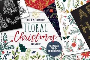 Floral Christmas Bundle