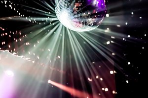 Disco Ball Nightclub Lights