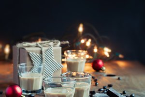 Baileys, coffee liqueur, Christmas