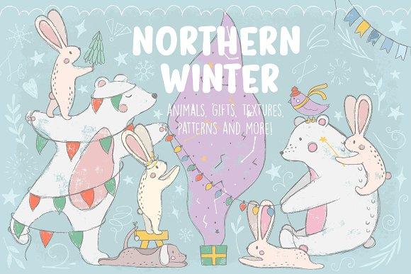 Northern Winter-Graphicriver中文最全的素材分享平台