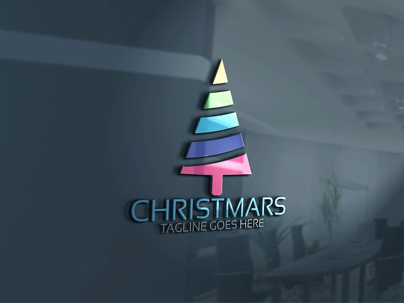 Christmas Logo 3 in Logo Templates - product preview 1