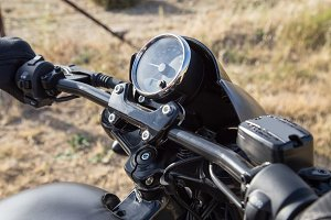 Handlebar of a motorcycle