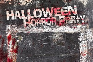 Halloween horror menu
