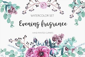 Watercolor Set Evening fragrance