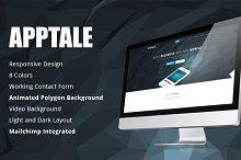 AppTale - HTML App Landing Page