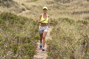 Runner woman