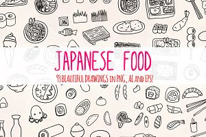 Japanese Food 93 Yummy Graphics