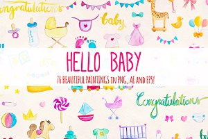 Hello Baby 76 New Baby Elements