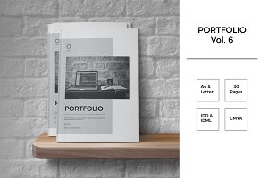 Portfolio Template Indesign Vol. 6