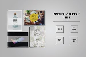 Portfolio Bundle Template Indesign