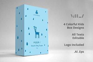 Kids Box Design Templates
