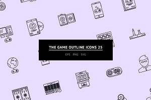 The Game Outline Icons 25