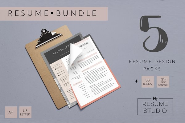 Sample Maintenance Resume Resume Templates  Creative Market Case Manager Resume Samples Word with Welder Resume Objective Resume Templates  Resume Bundle Pack How To Make A Resume For Free