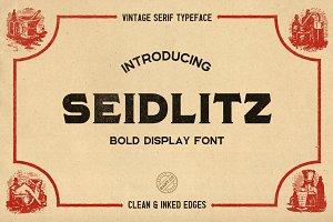 Seidlitz Font