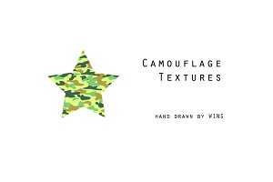 Six Camouflage Textures