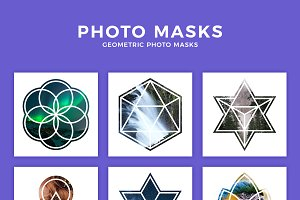 Geometric Photo Masks
