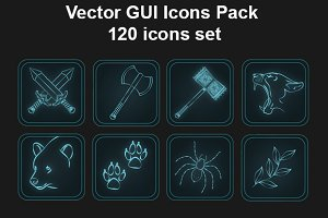 GUI Icons Pack - skills set