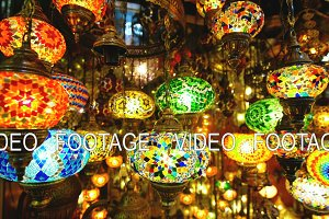 Famous Grand Bazar shop in Istanbul Turkey