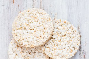 Healthy Snack from Rice Cakes